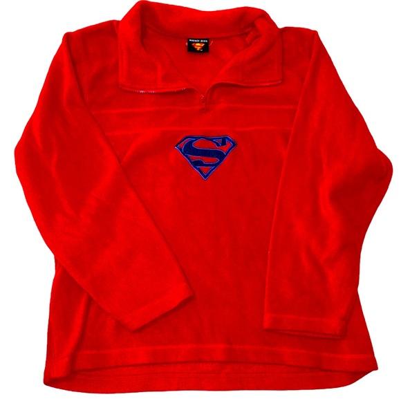 Vintage Super Man Fleece
